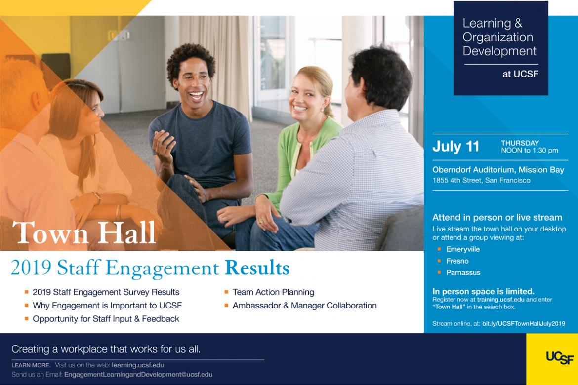 2019 Staff Engagement Town Hall - Results - July 11, 2019