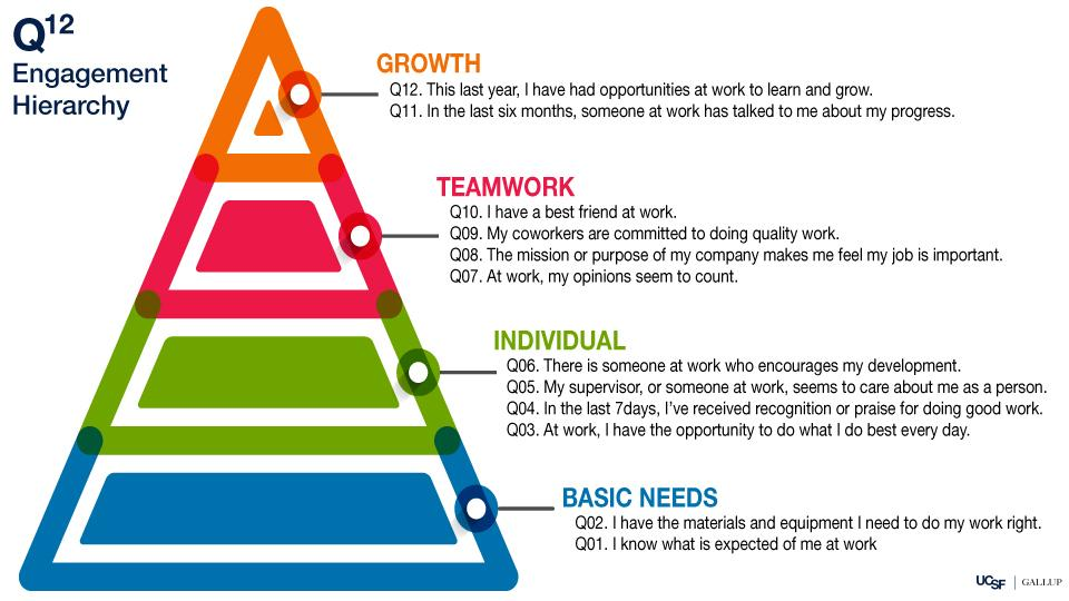 Gallup Q12 Pyramid